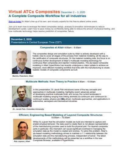 Virtual ATCx Composites Event brochure - Brochure