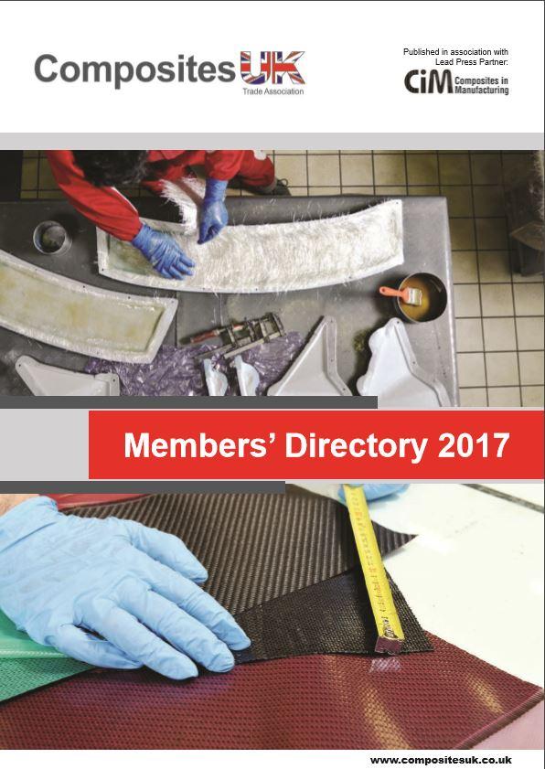 Composites UK 2017 Members' Directory - Brochure