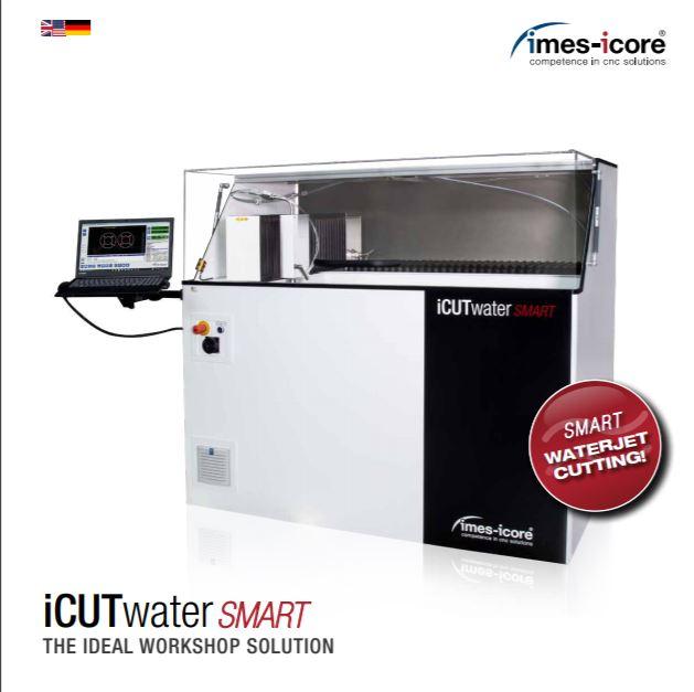Imes iCut Smart Water waterjet cutting machine brochure - Brochure